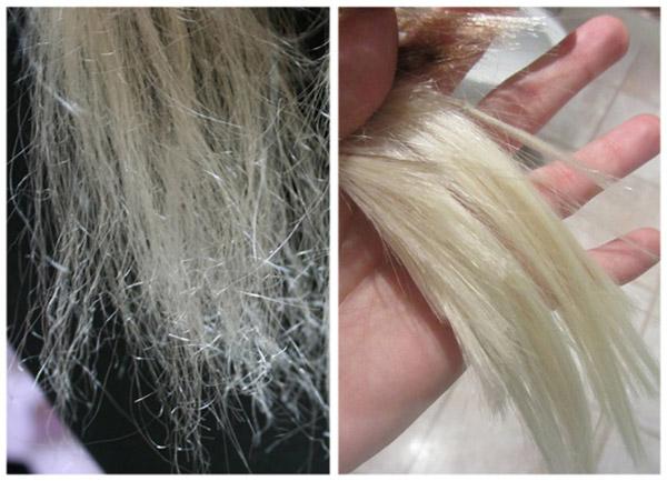 сожгли волосы краской что делать помогите