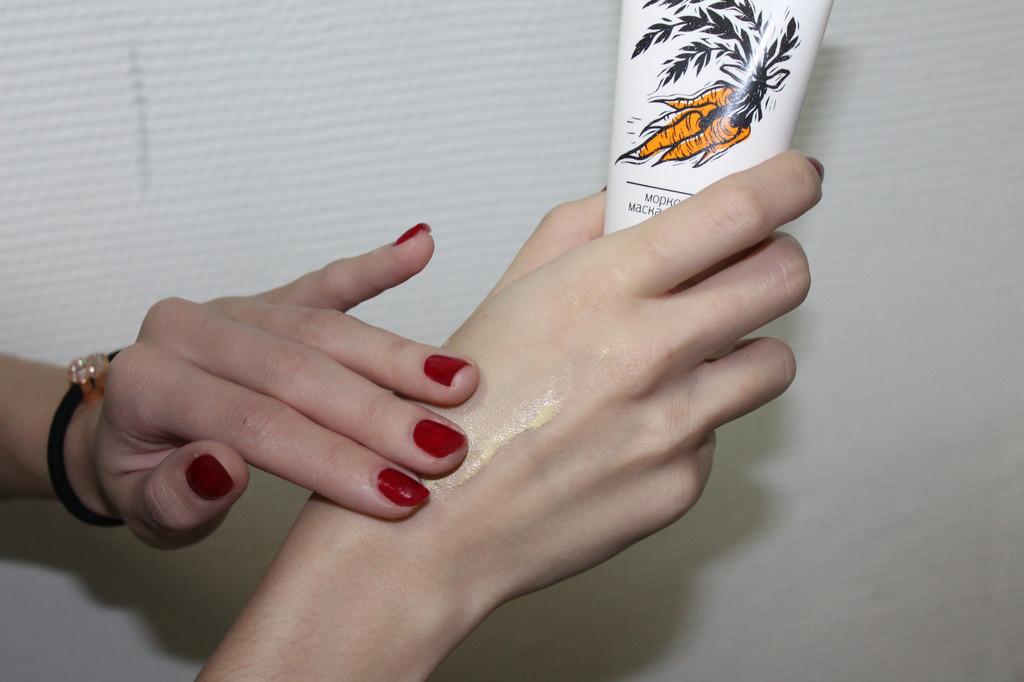прыщи Carrot Mask Handel: Чистая кожа за 2 месяца!